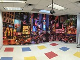 Wall Mural Time Square Pana